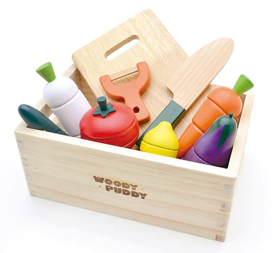 Salad Set-Toys-Woody Puddy-Tiny Paper Co-Afterpay-Australia-Toy-Store - Woody Puddy - Tiny Paper Co. Afterpay Toy Store Australia
