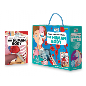 The Human Body Puzzle-Puzzle-Sassi Science-Tiny Paper Co-Afterpay-Australia-Toy-Store - Sassi Science - Tiny Paper Co. Afterpay Toy Store Australia