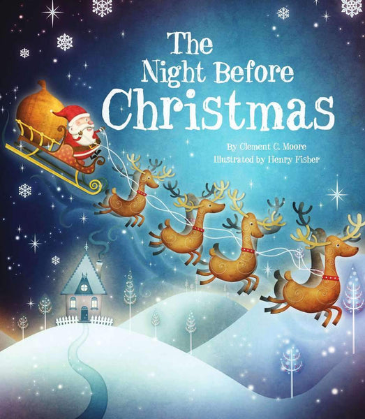 The Night Before Christmas-Books-Parragon-Tiny Paper Co-Afterpay-Australia-Toy-Store - Parragon - Tiny Paper Co. Afterpay Toy Store Australia