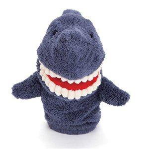 Toothy Shark Hand Puppet-Soft Toy-Jellycat-Tiny Paper Co-Afterpay-Australia-Toy-Store - Jellycat - Tiny Paper Co. Afterpay Toy Store Australia