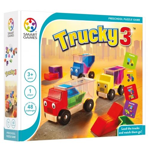 Trucky 3 Smart Games-Puzzle-Smart Games-Tiny Paper Co-Afterpay-Australia-Toy-Store - Smart Games - Tiny Paper Co. Afterpay Toy Store Australia