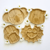 Wooden Plates-Eat and Drink-Emondo Kids-Tiny Paper Co-Afterpay-Australia-Toy-Store - Emondo Kids - Tiny Paper Co. Afterpay Toy Store Australia