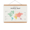 World Map-Decor-We Are Squared-Tiny Paper Co-Afterpay-Australia-Toy-Store - We Are Squared - Tiny Paper Co. Afterpay Toy Store Australia