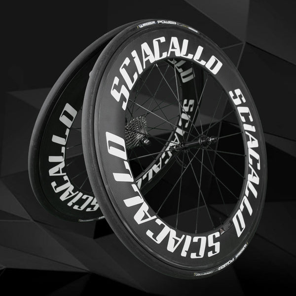 Sciacallo Bikes - Sciacallo™ Tagliatore Carbon Fibre Wheel Set