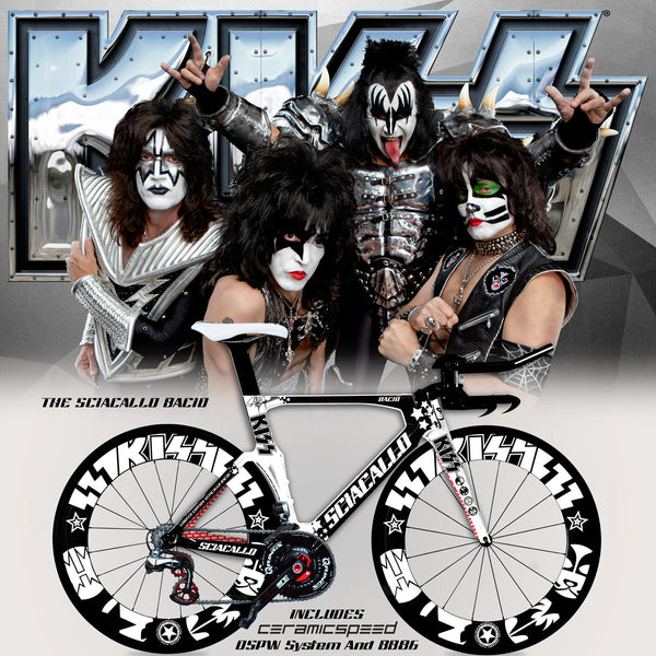 Sciacallo™ Bacio - Officially Licensed Certified Original KISS® Bicycle