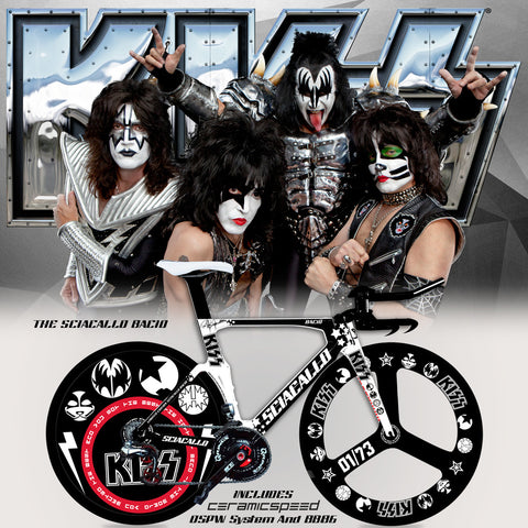 Sciacallo Bacio - Officially Licensed Certified Original KISS® Bicycle