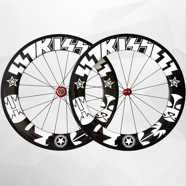 Sciacallo Bikes - KISS® Limited Edition Carbon Fibre 88mm Wheel Set