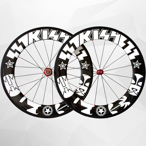 KISS® Limited Edition Carbon Fibre 88mm Wheel Set