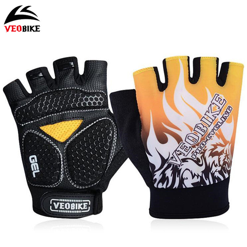 Sciacallo Bikes - VEOBIKE Half Finger Cycling Breathable Gloves
