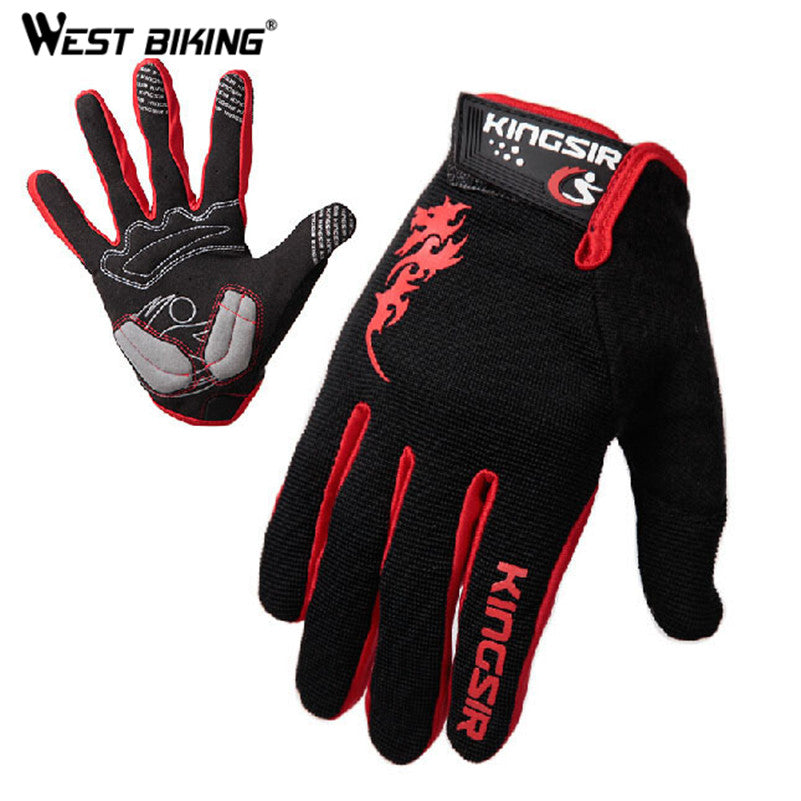 Sciacallo Bikes - WEST BIKING Touch Screen Cycling Racing Gloves