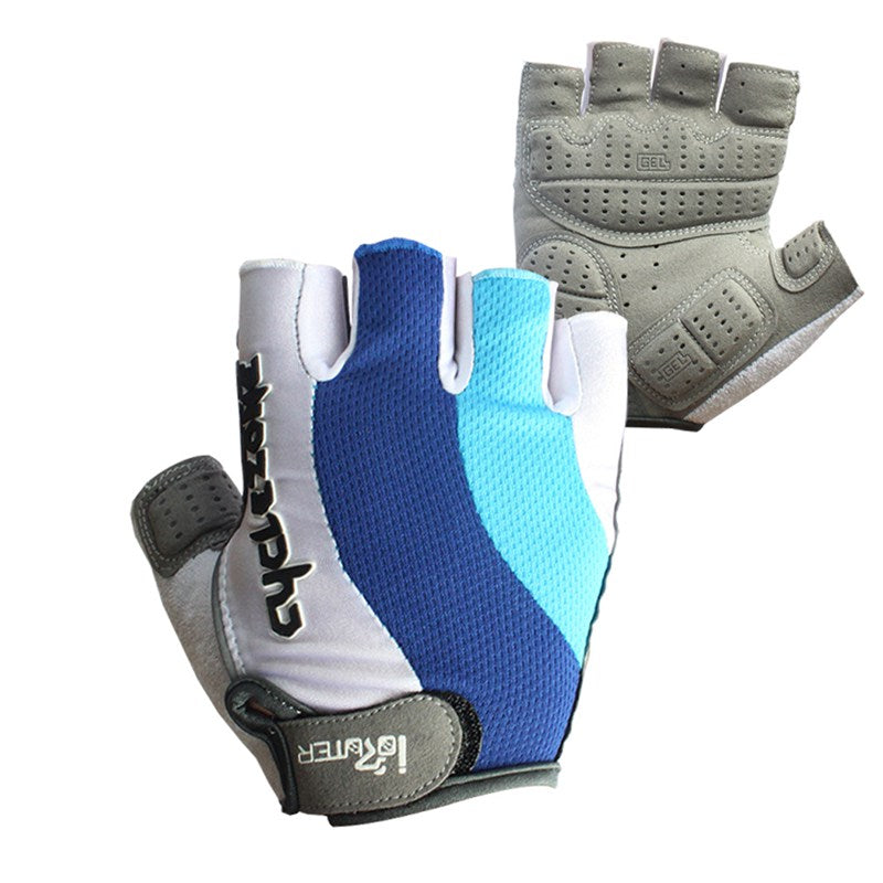 Sciacallo Bikes - Silicone Gel Cycling Gloves Half Finger