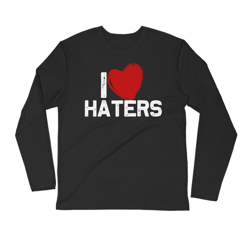 I LOVE HATERS LS