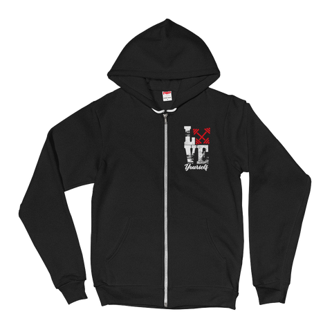 LOVE YOURSELF ZIP UP