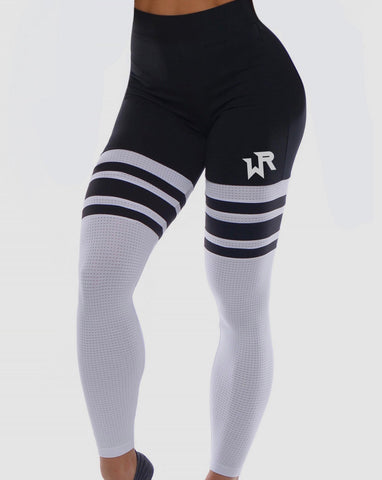 WAR READY LEGGINGS BLACK & WHITE