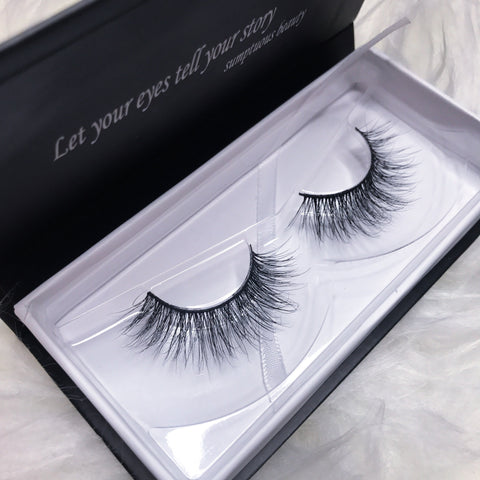"3D MINK LASHES STYLE: ""BEIJING"""
