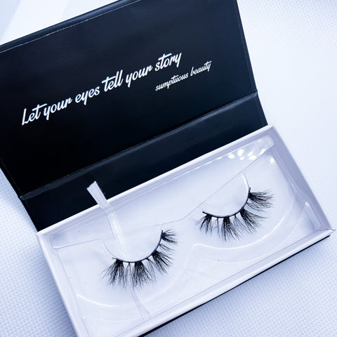 "3D MINK LASHES STYLE:""NYC"""