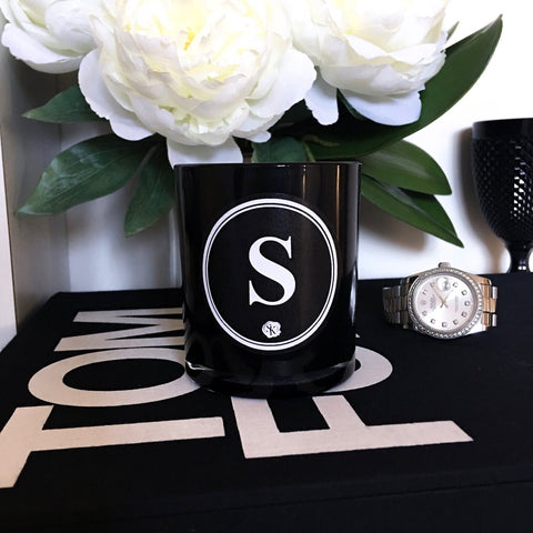 NOIR MONOGRAM CANDLE