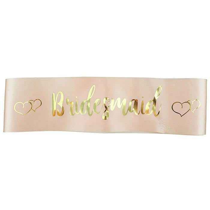 """Bridesmaid"" Sash"