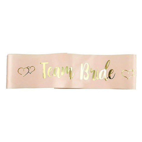"""Team Bride"" Sash"
