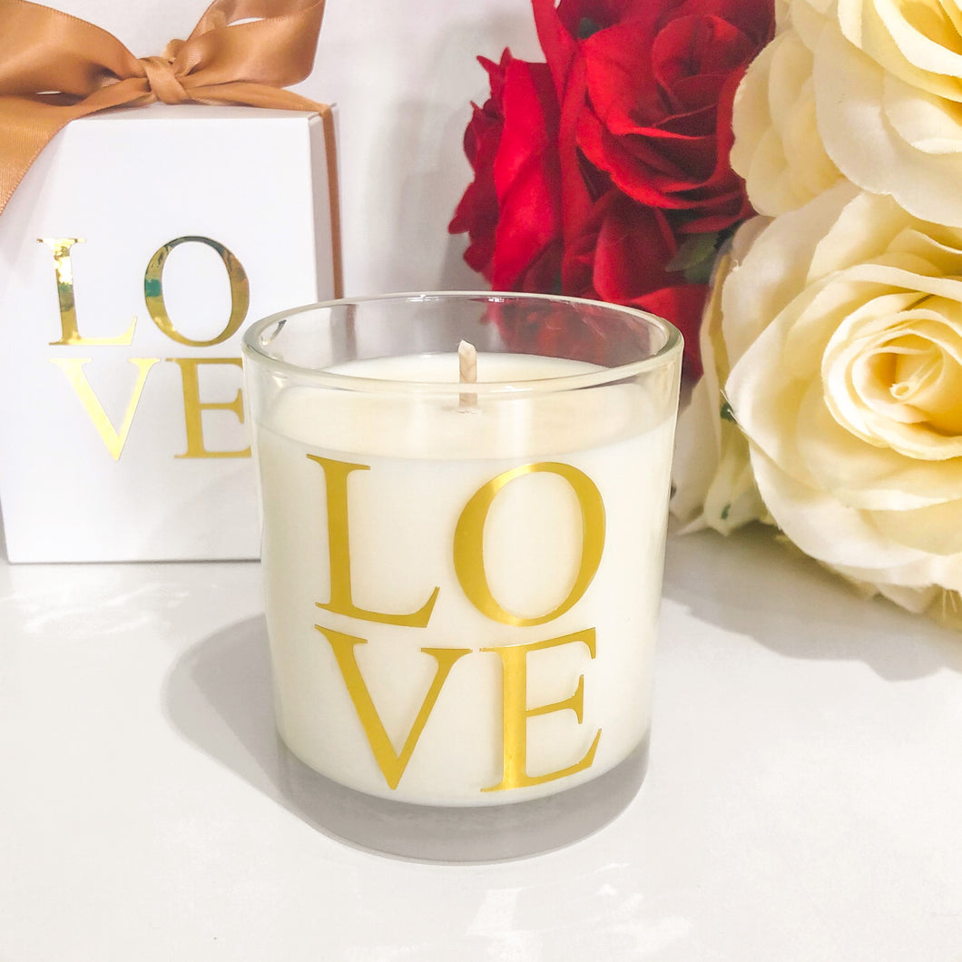 LOVE Candle (Medium)