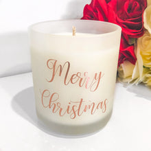 "Load image into Gallery viewer, ""Merry Christmas"" Candle (Extra Large)"