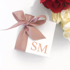 PERSONALISED MINI GIFT BOX - WHITE