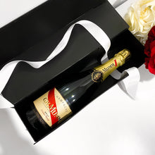 Load image into Gallery viewer, PERSONALISED WINE BOX - BLACK