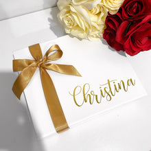 Load image into Gallery viewer, SMALL NAME GIFT BOX - WHITE