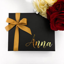 Load image into Gallery viewer, SMALL NAME GIFT BOX - BLACK