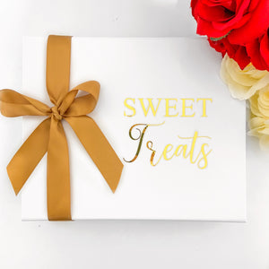 SWEET TREATS CARE PACKAGE - WHITE