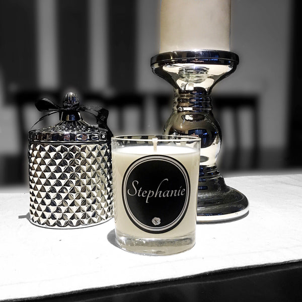 NOIR NAME CANDLE