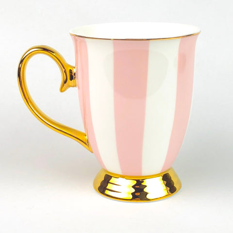 Cristina Re Mug - Blush Stripes