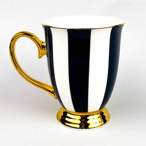 Cristina Re Mug - Ebony Stripes
