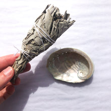 Load image into Gallery viewer, Mini White Sage Smudge Stick