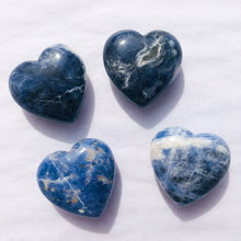 Load image into Gallery viewer, Small Sodalite Heart