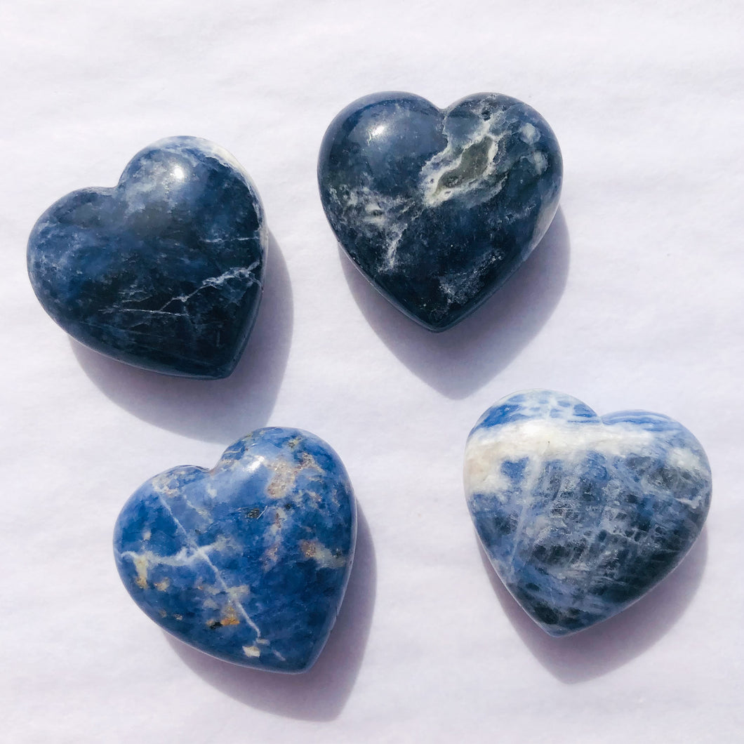 Small Sodalite Heart