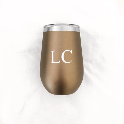 PERSONALISED TRAVEL MUG - BRONZE