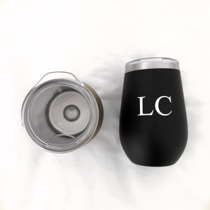 PERSONALISED TRAVEL MUG - BLACK