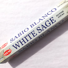 Load image into Gallery viewer, HEM White Sage Incense Sticks