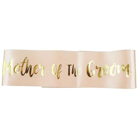 """Mother of the Groom"" Sash"