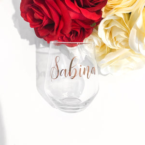 PERSONALISED TUMBLER GLASS