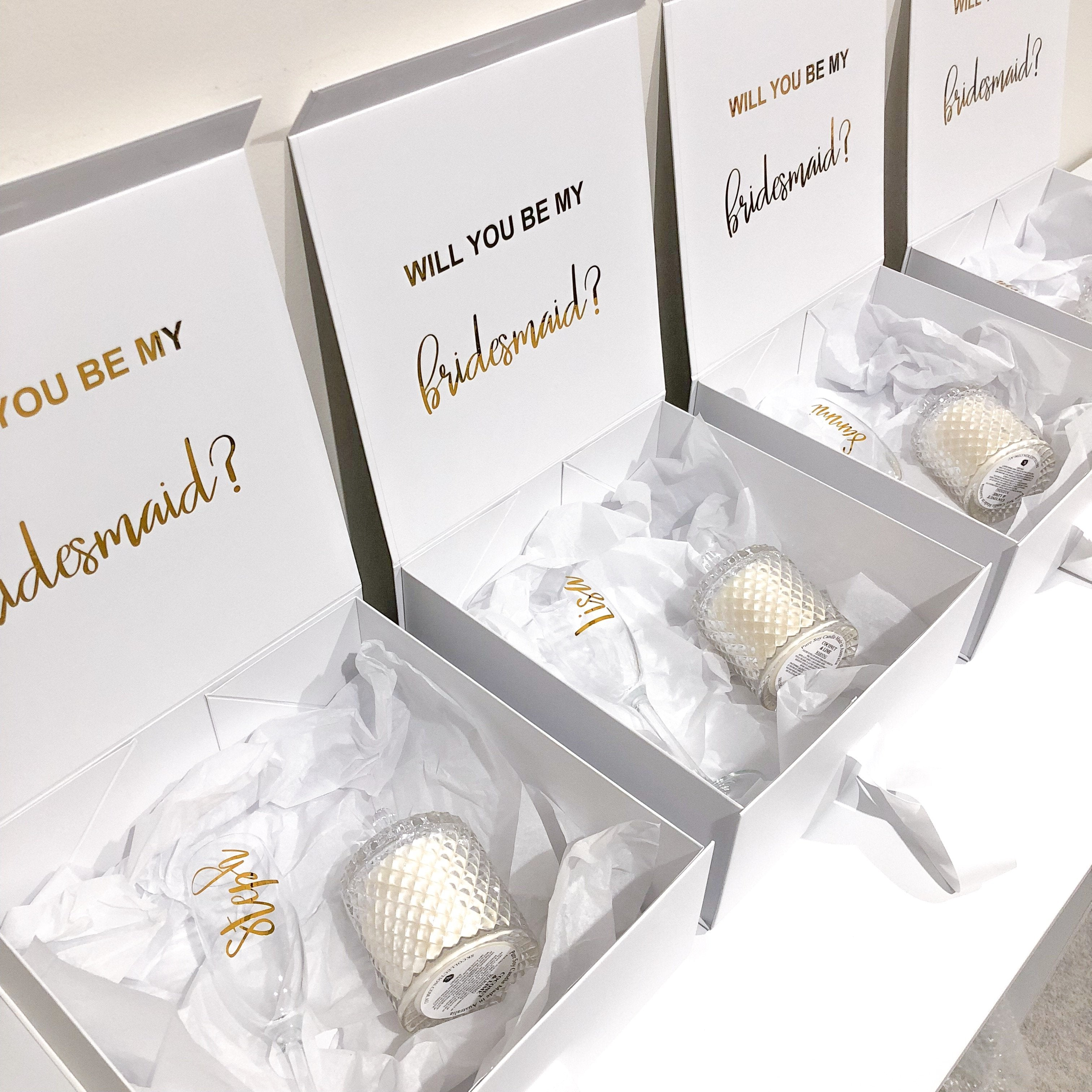 Bridal Proposal Boxes