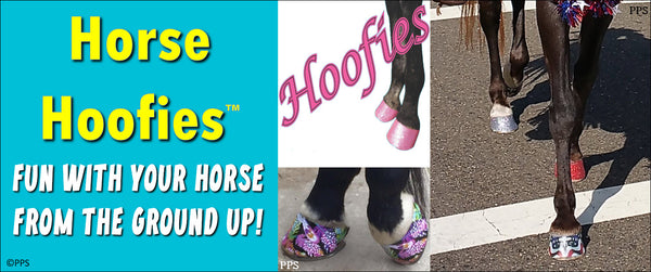 Horse Hoofies Super Fun Peel and Stick Decals