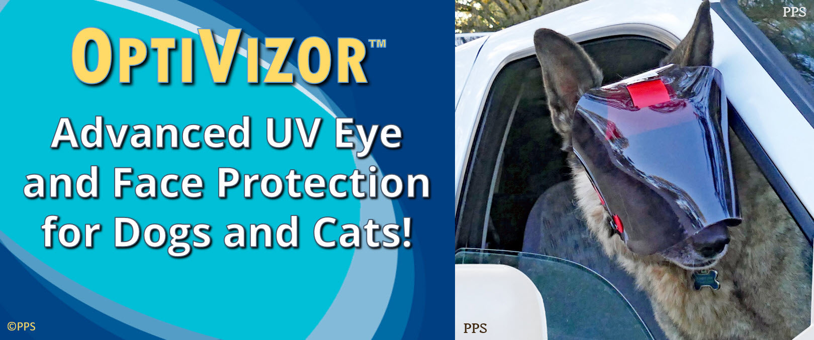 OptiVizor Dark UV Tint for Dogs and Cats