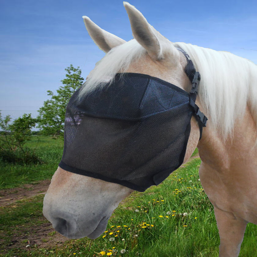 EquiVizor Fly Mask for Horses - Highest 95% UV Eye Protection On The Market