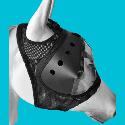 Equivizor™ Racing Vizor w/Blinkers - Protective Pet Solutions