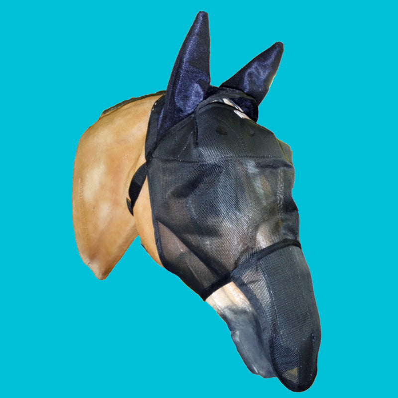 EquiVizor UV Fly Mask - Ears/Nose Protection - Original Version