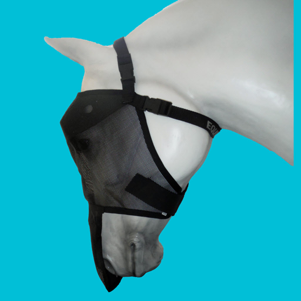 Equivizor Fly Mask with Nose Protection - Protective Pet Solutions