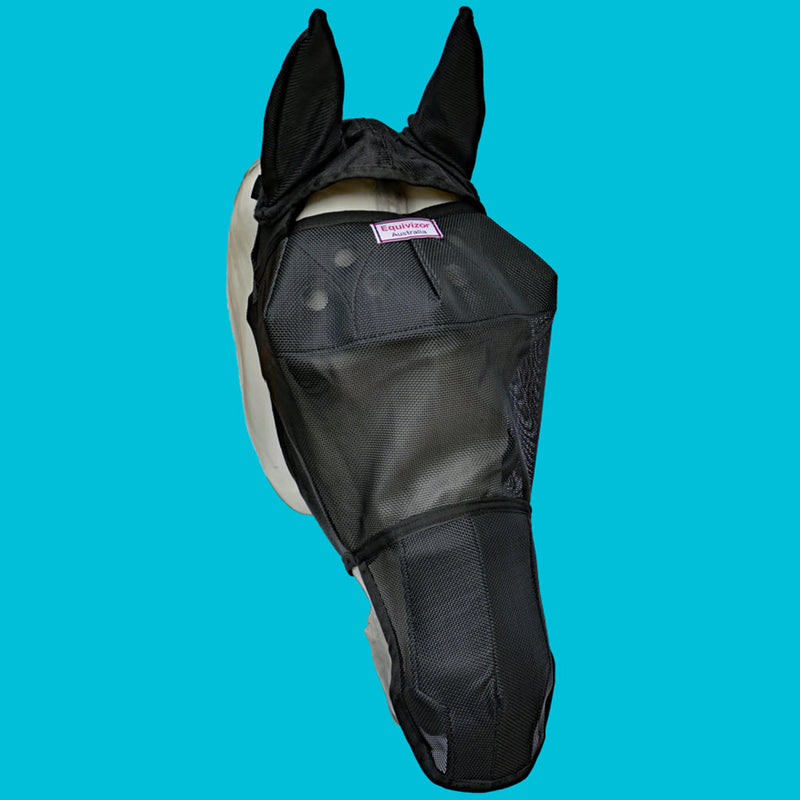EquiVizor Fly Mask with Ear and Nose Protection - Protective Pet Solutions
