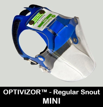 Optivizor Size Mini - Regular Snout Version - Protective Pet Solutions